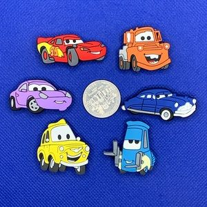 Disney Cars Shoe Charm Set